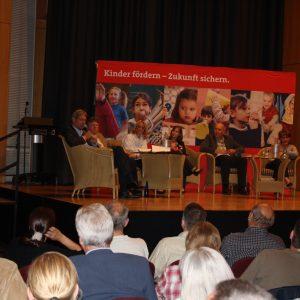 Podiumsdiskussion zur Revision des Kinderbildungsgesetzes in d. Stadthalle Kamen