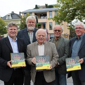 v.l. Rüdiger Weiß, Alfred Buß, Heinrich Peukmann, Eckard Albrecht, Gerd Puls