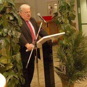 NRW-Arbeitsminister Guntram Schneider bei Jubilarehrung in Methler
