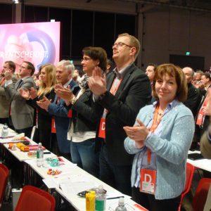 SPD-Delegation Bundesparteitag