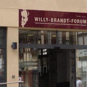 Willy-Brandt-Forum in unserer Partnerstadt Unkel