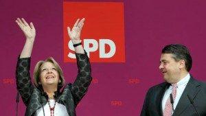 Hannelore Kraft  und Siegmar Gabriel