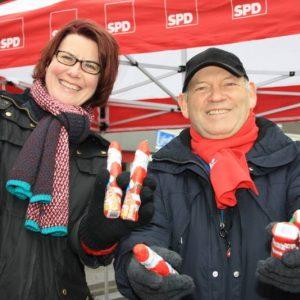 Christine Hupe und Manfred Wiedemann