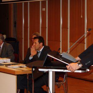 Ronny Sostmann in der  heutigen Ratssitzung