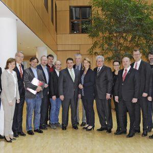 Ruhr MdBs im Gespräch mit Sigmar Gabriel
