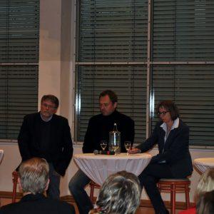 BM Hermann Hupe eröffnet den Abend mit einem Imlusreferat: Inklusion ist Herzenswunsch und Herausforderung