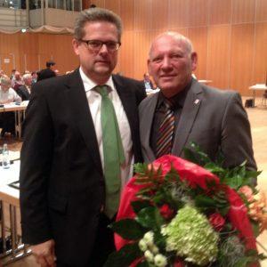 Manfred Wiedermann 2014 Wiederwahl zum 1. stellv. Bürgermeister
